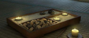 Asztali zen-kertek